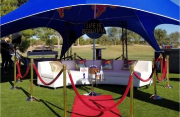 VIP Lounge Terrible Herbst Golf Tournament